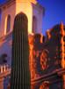 Mission San Xavier Del Bac just south of Tucson, Arizona.