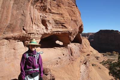 Canyon de Chelly - It's entirely owned by the Navajo tribe and is the only National Park Service unit that is owned and cooperatively managed.  .