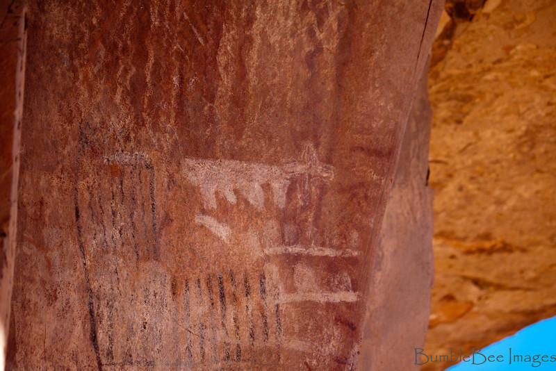 Palatki Pictographs & Petroglyphs - Sedona