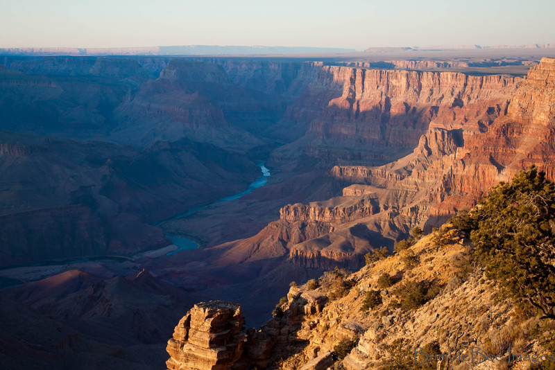 The Grand Canyon & Colorado River - South Rim