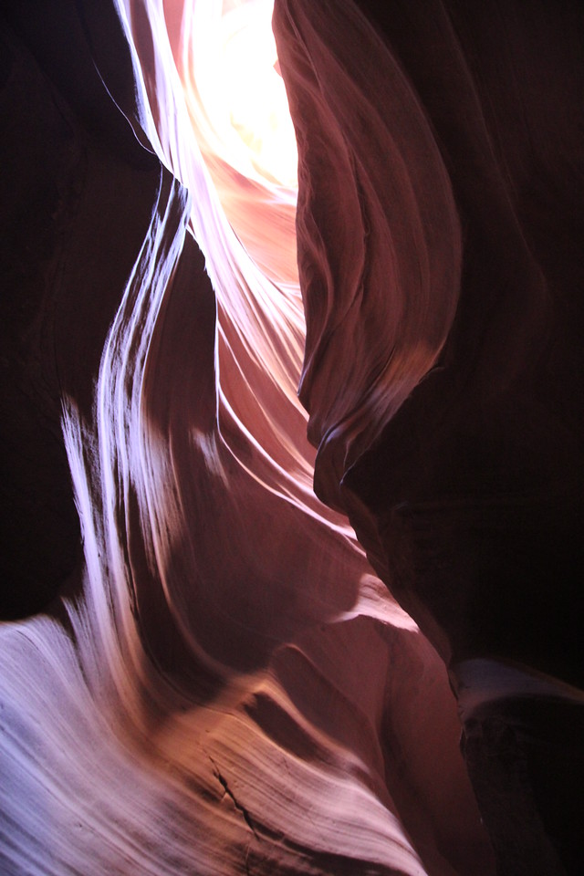 Antelope Canyon - Rain does not have to fall on or near the Antelope Canyon slots for flash floods to whip through, as rain falling dozens of miles away 'upstream' of the canyons can funnel into them with little prior notice.