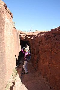 Canyon de Chelly - These canyons were cut by streams with headwaters in the Chuska mountains just to the east of the monument.