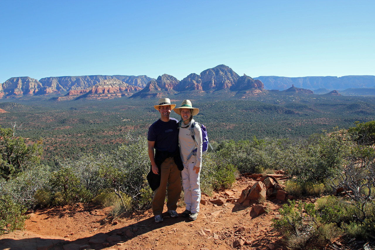 Sedona - The city itself has a lot Crystal shops from all the visiting New Age followers seeking out the 'Vortexes'  We recommend just enjoying the natural beauty.