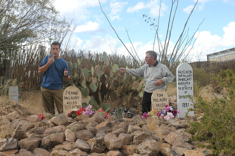 Tombstone graveyard - Where the bad guys were buried