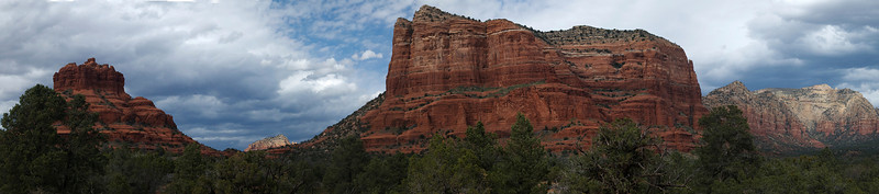 Sedona Red Rocks as you Drive into Town