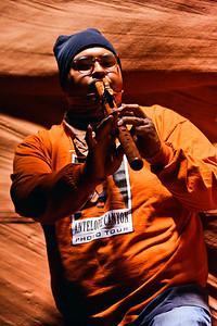 Navajo musician