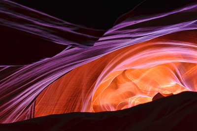 Canyon colors, Antelope Canyon.