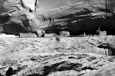 Indian ruins, Canyon De Chelly.