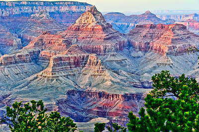 Grand Canyon at sunrise.