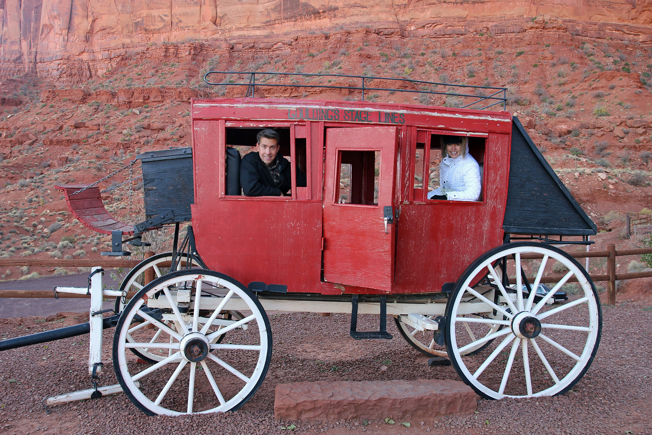 Monument Valley - Stagecoach