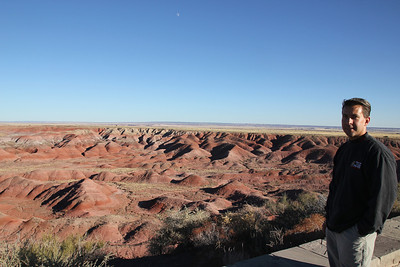 Painted Desert - also known as the bad lands