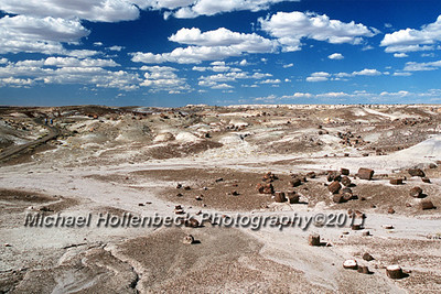 Petrified Forest National Park, Arizona.<br /> June 22, 2004