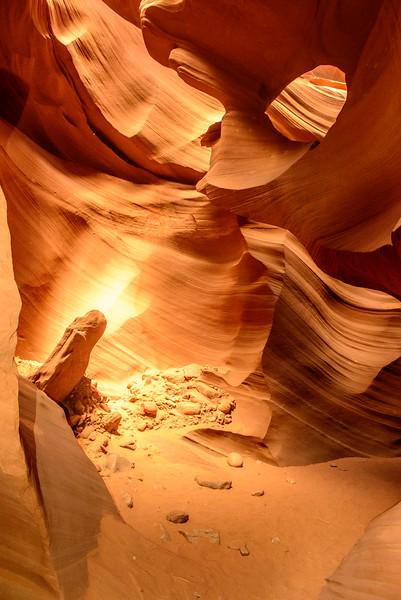 Antelope Canyon. Page, AZ