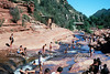 Slide Rock near Sedona, Arizona.<br /> June 20, 2004