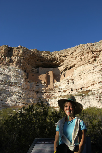Montezuma's Castle - Our first of many cliff dwellings