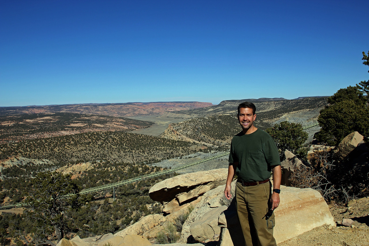 Black Mesa - Had to get a picture on top of Black Mesa because I'm such a fan of Half-Life.