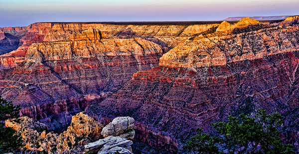 Grand Canyon, sunset.