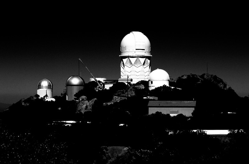 Kitt Peak Observatory, outside Tucson, Arizona