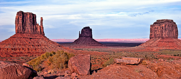 Monument Valley late afternoon.