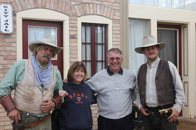 Tombstone - Uncle Fred and Aunt Barb with the bad guys!