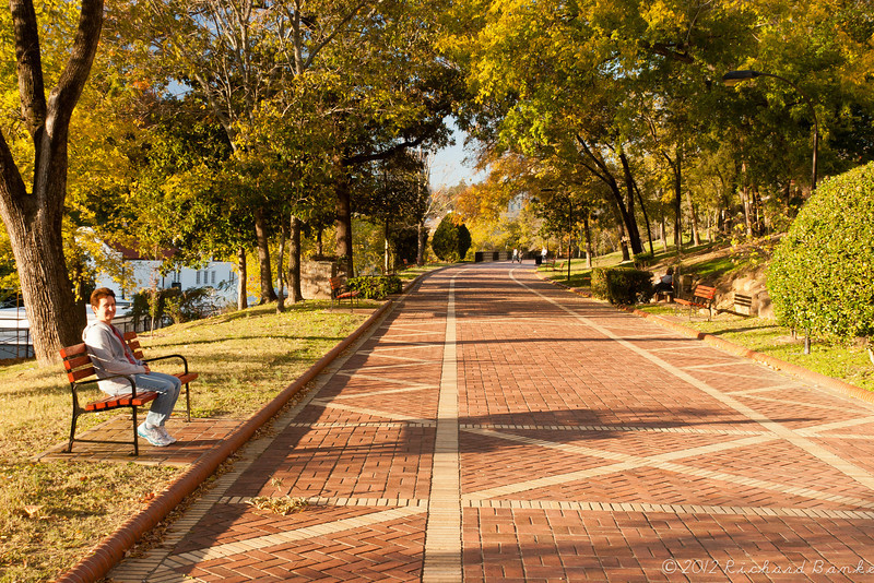 The Promenade, Hot Springs, AR, November 2012