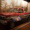 Sam Walton's Ford F150 pickup truck in Walmart museum