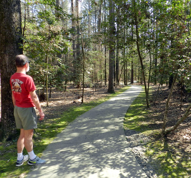 Crater of Diamonds State Park, Arkansas.. River Trail.