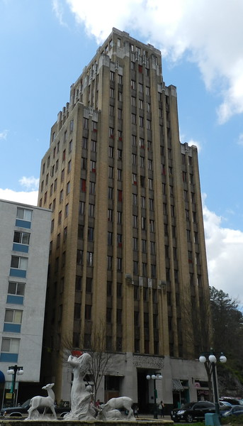 Hot Springs, AR. This beautiful art deco building is for sale.