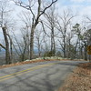 Mt. Nebo State Park, Arkansas. Eleven switchbacks in 4 miles, 18% grade. We did not go all the way to the top.