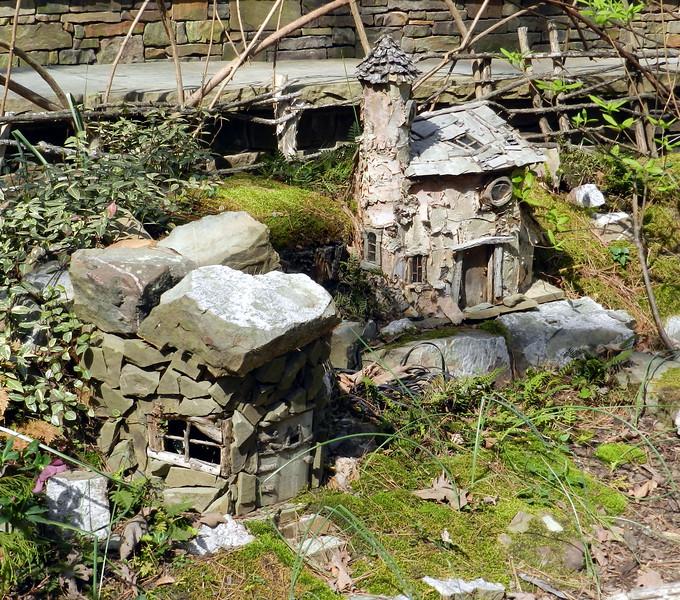 Garvan Woodland Gardens, near Hot Springs, AR. Fairie houses.