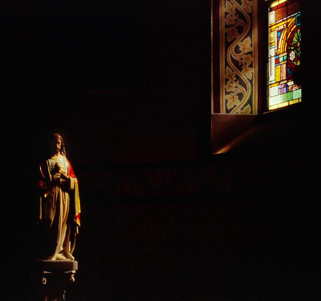 Jesus, St Mary's, Altus, Arkansas, October, 2007