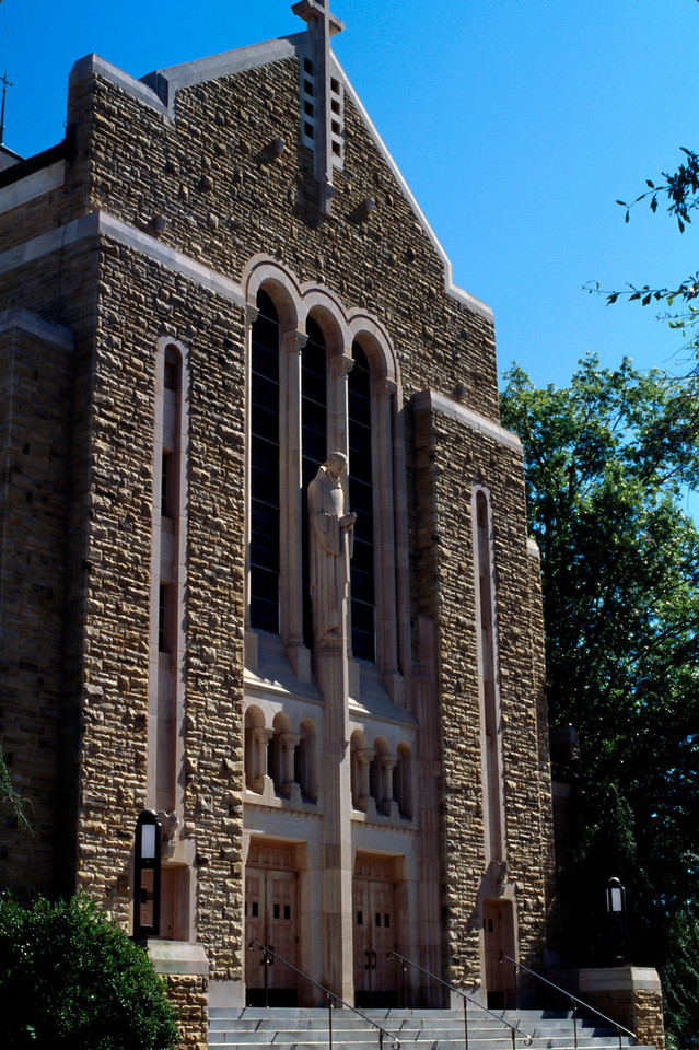 Cathedral at Sebaico Monastery, Arkansas.
