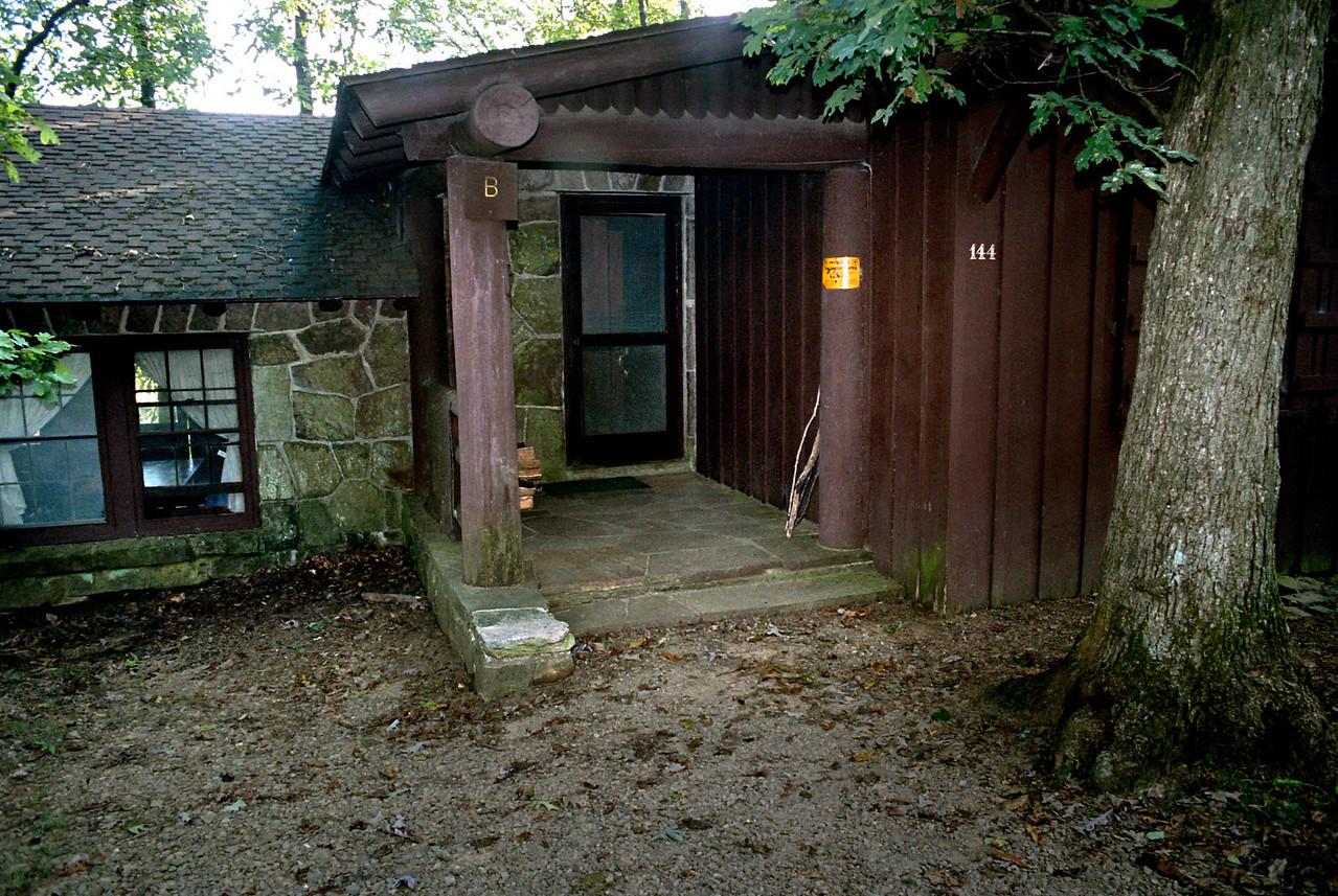 Cabin, White Rock Mountain, Arkansas.