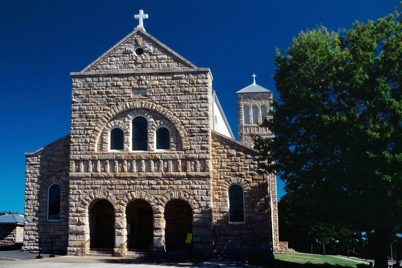 St Mary's, Altus, Arkansas, October, 2007