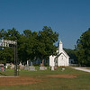 Arkansas the Beautiful #8<br /> <br /> One of many picturesque churches and cemeteries in Arkansas. The name comes from the river crossing (or ford) just behind the church. Do you suppose this crossing was only for Baptists?