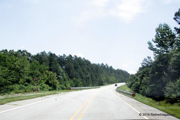 Driving to Arkansas