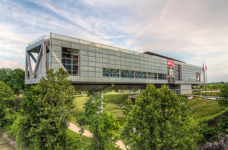 Clinton Library in Little Rock, Arkansas