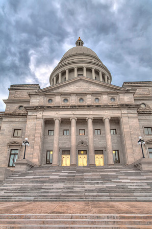 State Capitol building in Little Rock, Arkansas
