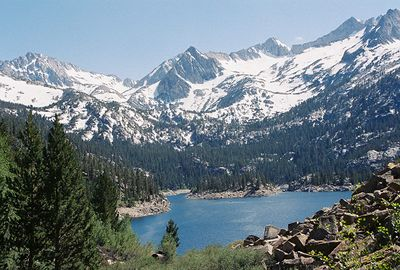 7/1/05 South Lake. Inyo National Forest, Eastern Sierras, Inyo County, CA
