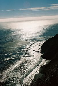 8/18/04 Coastline off Pacific Coast Highway just south of the town of Big Sur. San Luis Obispo County, CA