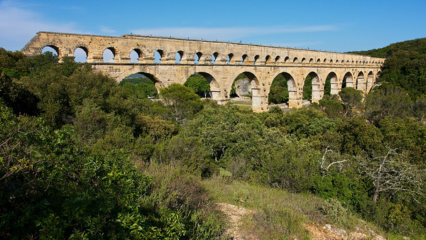 Pont du Gard from southern France