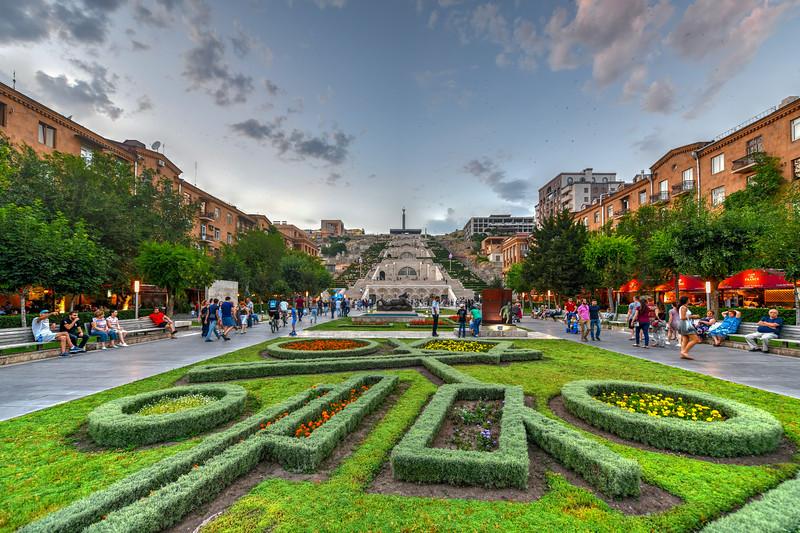 Cascade Complex - Yerevan, Armenia