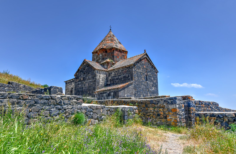 Sevanavank Church - Sevan,  Armenia.