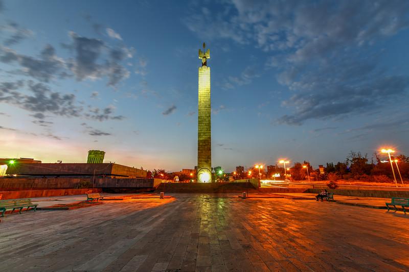 50 Years Soviet Armenia - Yerevan, Armenia