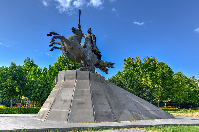 Monument to the commander Andranik - Yerevan, Armenia