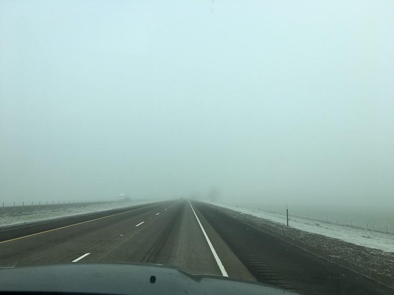 Heavy fog & frost