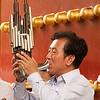 Street musicians in Beijing