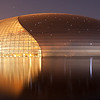 Absolutely stunning building<br /> Beijing National Grand Theater by night