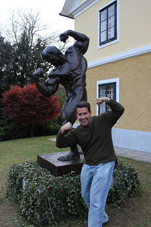 The new Arnold Schwarzenegger Museum was recently opened in Thal, Austria at Arnold's childhood home.