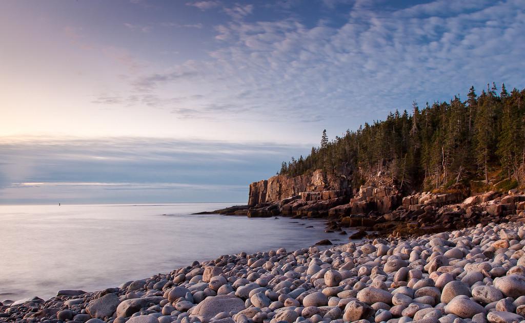 Otter Cliffs from Boulder Beach,<br /> Acadia NP